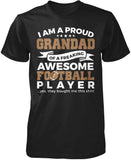 Proud Grandad of An Awesome Football Player T-Shirt