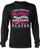 Proud Gigi of An Awesome Football Player Long Sleeve Shirt