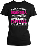 Proud Gigi of An Awesome Football Player Women's Fit Shirt