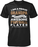 Proud Grandpa of An Awesome Football Player T-Shirt