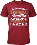Proud Grandpa of An Awesome Football Player