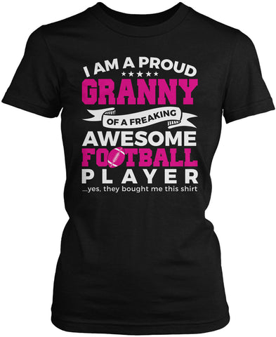 Proud Granny of An Awesome Football Player Women's Fit T-Shirt