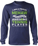 Proud Memaw of An Awesome Tennis Player