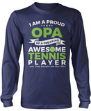 Proud Opa of An Awesome Tennis Player