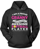 Proud Granny of An Awesome Softball Player Pullover Hoodie Sweatshirt