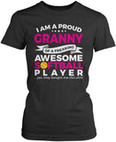 Proud Granny of An Awesome Softball Player Women's Fit T-Shirt