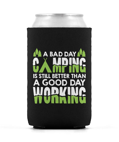 A Bad Day Camping - Can Cooler