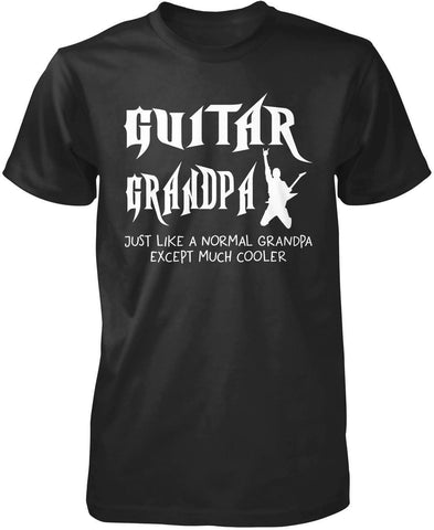 Guitar (Nickname) Except Much Cooler - T-Shirt - T-Shirts