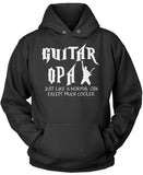I'm a Guitar Opa Except Much Cooler Pullover Hoodie Sweatshirt