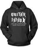 I'm a Guitar Papaw Except Much Cooler Pullover Hoodie Sweatshirt