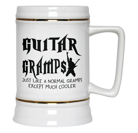 I'm a Guitar Gramps Except Much Cooler - Beer Stein