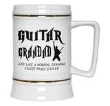 I'm a Guitar Grandad Except Much Cooler - Beer Stein