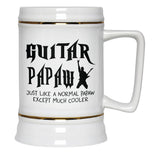I'm a Guitar Papaw Except Much Cooler - Beer Stein