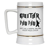 I'm a Guitar Paw Paw Except Much Cooler - Beer Stein