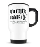 I'm a Guitar Grandpa Except Much Cooler - Travel Mug