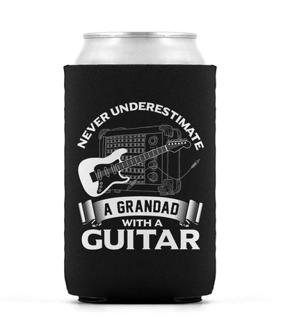 Never Underestimate a Grandad with a Guitar Can Cooler