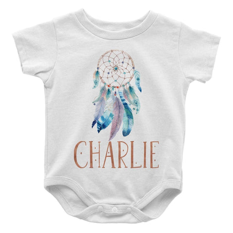 Dream Catcher - Personalized Baby Bodysuit - Baby Apparel