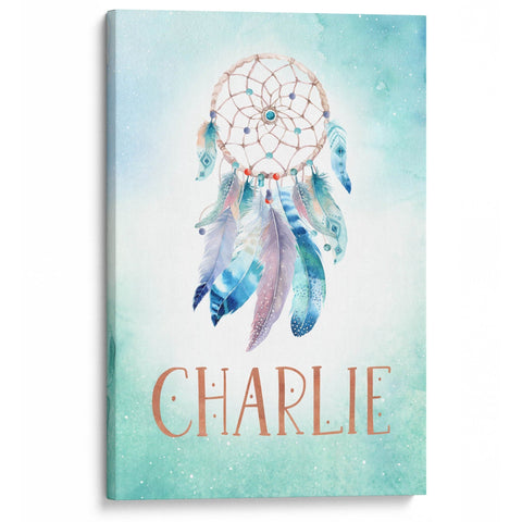 Dream Catcher - Personalized Canvas - Canvases