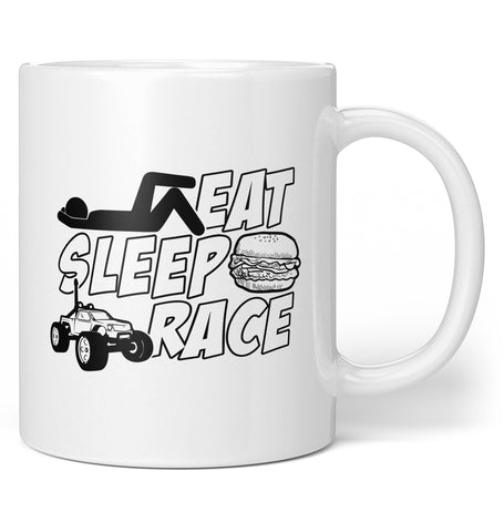 R/C Eat Sleep Race - Coffee Mug / Tea Cup