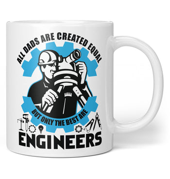 The Best (Nickname) Are Engineers - Personalized Coffee Mug / Tea Cup