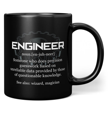 Engineer Definition - Mug - Coffee Mugs