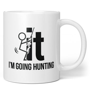 F-It I'm Going Hunting - Mug - Coffee Mugs