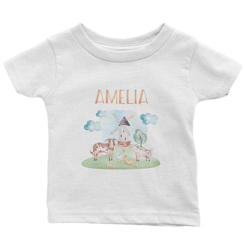 Farm Animals - Personalized Children's T-Shirt