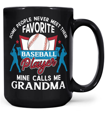 Favorite Baseball Player - Mine Calls Me (Nickname) - Mug - Coffee Mugs