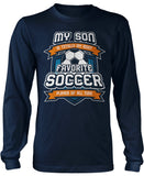 Favorite Soccer Player - Mine Calls Me (Nickname) - T-Shirt