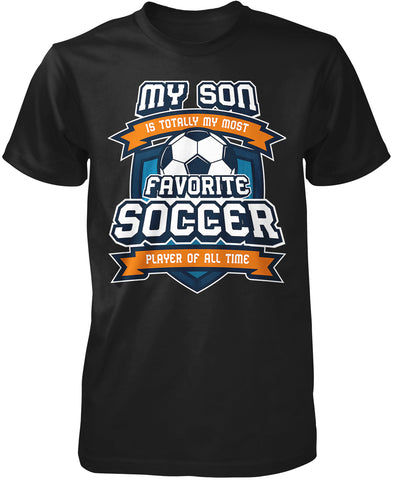 Favorite Soccer Player - Mine Calls Me (Nickname) - Personalized T-Shirt