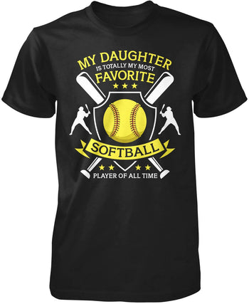 My (Relation) My Most Favorite Softball Player T-Shirt