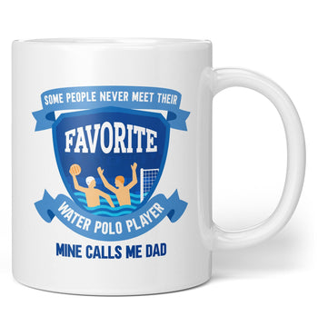 Favorite Water Polo Player - Mine Calls Me (Nickname) - Mug - Coffee Mugs