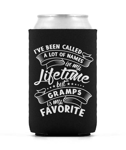 My Favorite Name is Gramps - Can Cooler