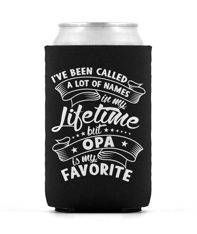 My Favorite Name is Opa - Can Cooler