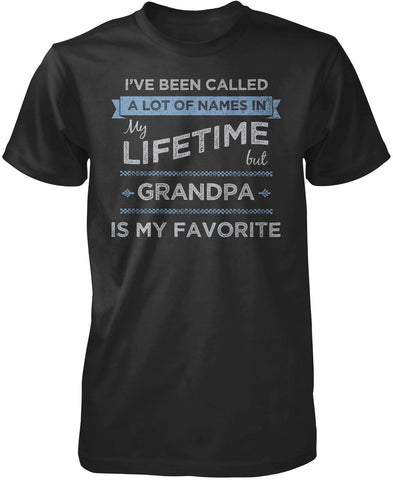 My Favorite Name Is Grandpa T-Shirt