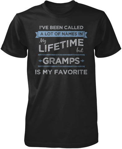 My Favorite Name Is Gramps T-Shirt
