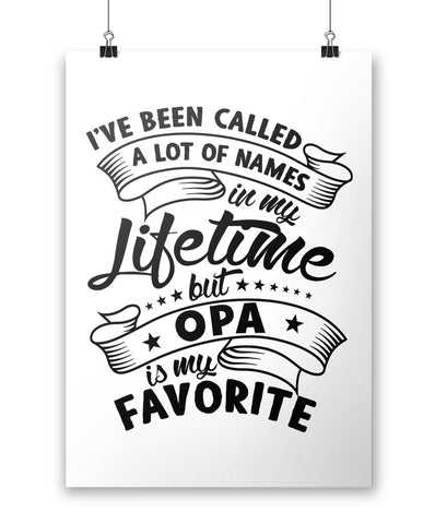 My Favorite Name is Opa - Poster