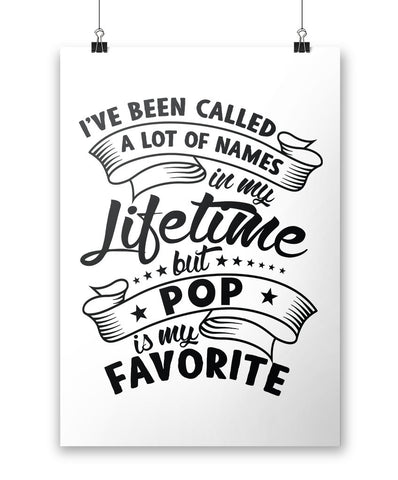 My Favorite Name is Pop - Poster