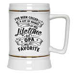 My Favorite Name is Opa - Beer Stein