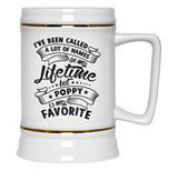 My Favorite Name is Poppy - Beer Stein