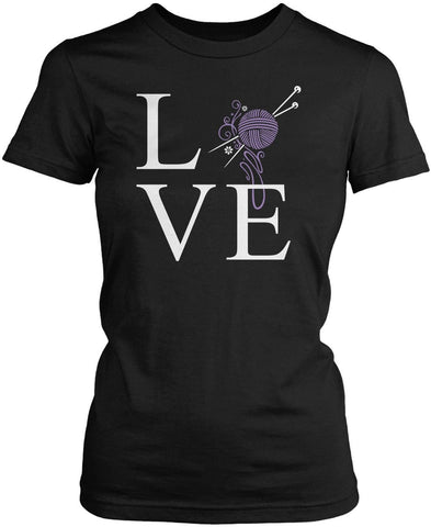 Love Knitting Women's Fit T-Shirt