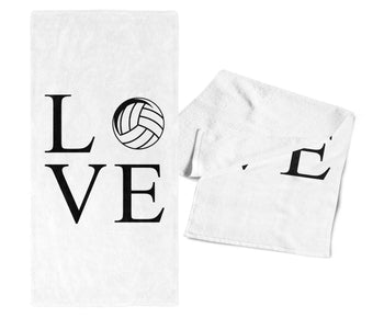 Love Volleyball - Gym / Kitchen Towel