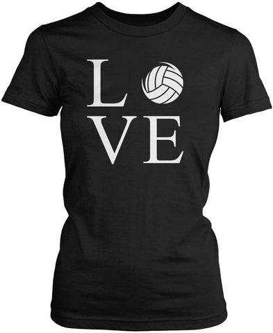 Love Volleyball Women's Fit T-Shirt
