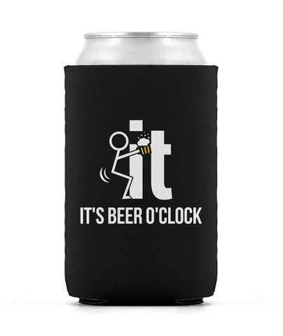 F-It It's Beer O'Clock - Can Cooler