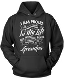 Nothing Beats Being a Grandpa Pullover Hoodie Sweatshirt
