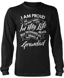 Nothing Beats Being a Grandad Long Sleeve T-Shirt