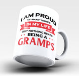 Nothing Beats Being a Gramps - Mug