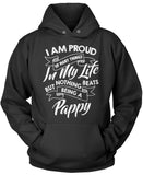 Nothing Beats Being a Pappy Pullover Hoodie Sweatshirt