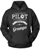 Proud Pilot - Nothing Beats Being a Gramps Pullover Hoodie Sweatshirt