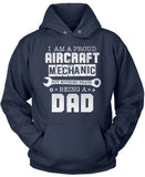 Proud Aircraft Mechanic - Nothing Beats Being a Dad
